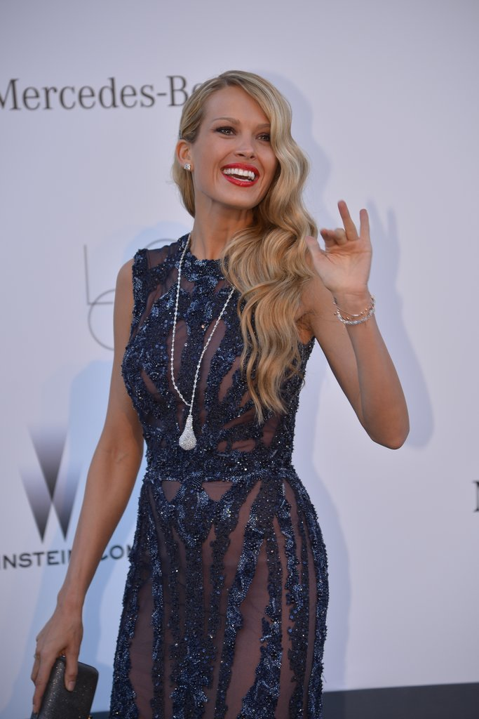 Petra Nemcova at the amfAR gala in Cannes.
