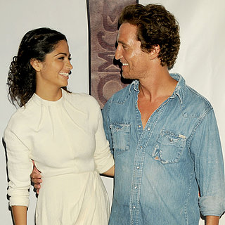 Matthew McConaughey and Camila Alves Cute Pictures