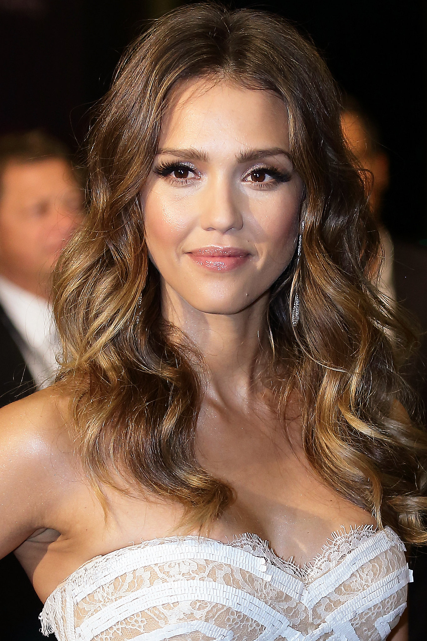 Jessica Alba stepped out in Singapore for the 2013 Social