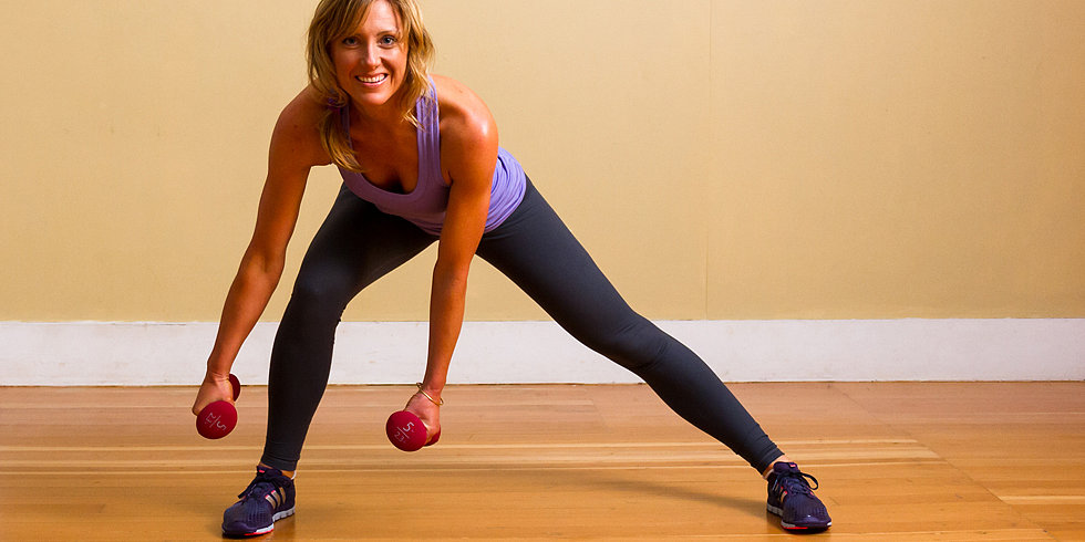Step Right Into Side Lunges