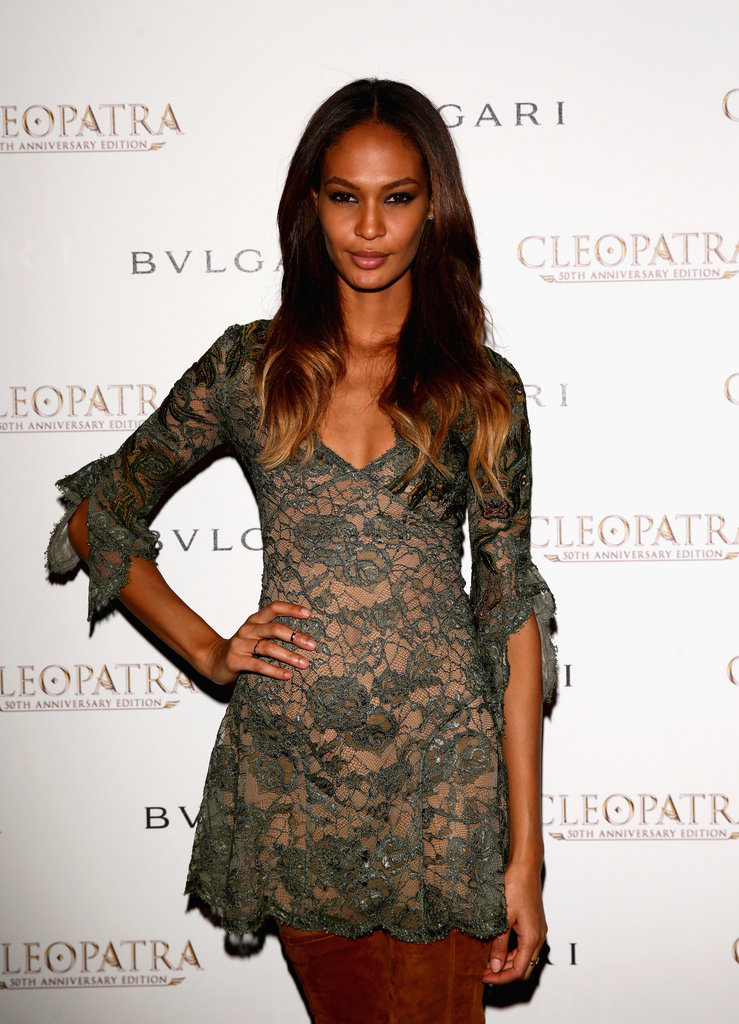 Joan Smalls showed us that you can still rock the balliage — that mane!