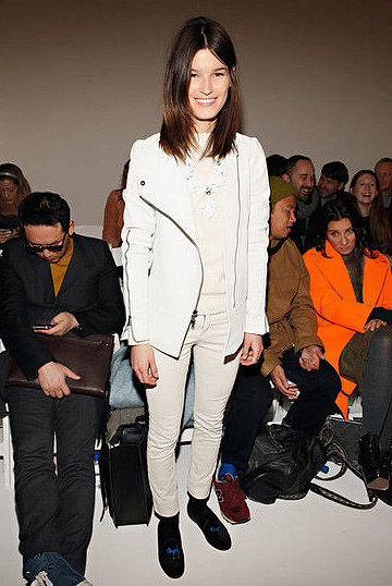 Hanneli Mustaparta makes a strong case for Winter white.