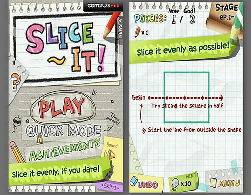 Slice It! (Free, Ages 10+)