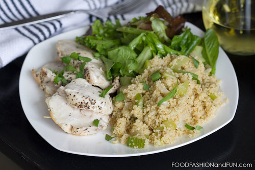 Celery and Jalapeno Couscous