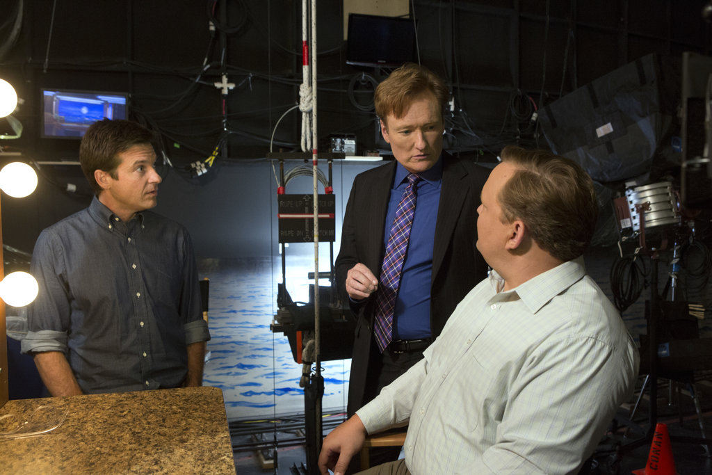 Conan O'Brien on Arrested Development. Photos courtesy of Netflix