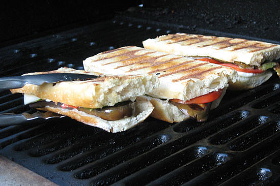 Fresh Garden Harvest Grilled Panini