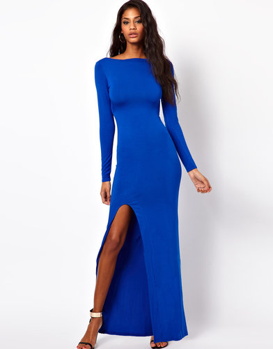 ASOS Maxi Dress With Sexy Split