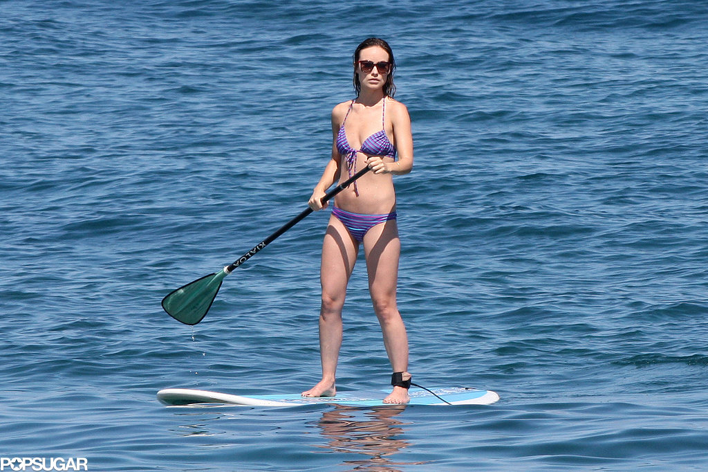 Olivia Wilde went paddleboarding in Hawaii for Memorial Day weekend.