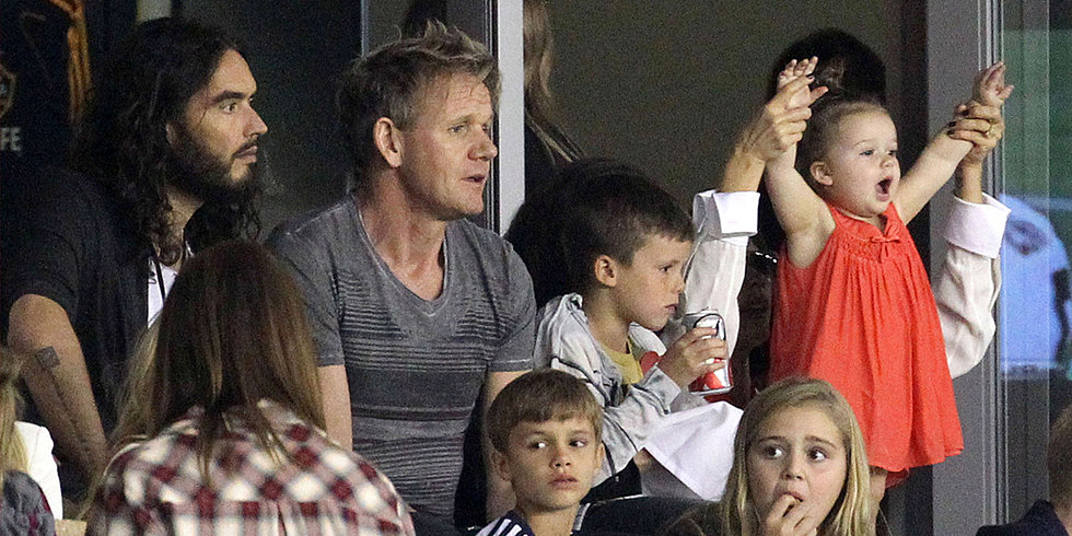David Beckham's Star-Studded — and Adorable — Cheering Section