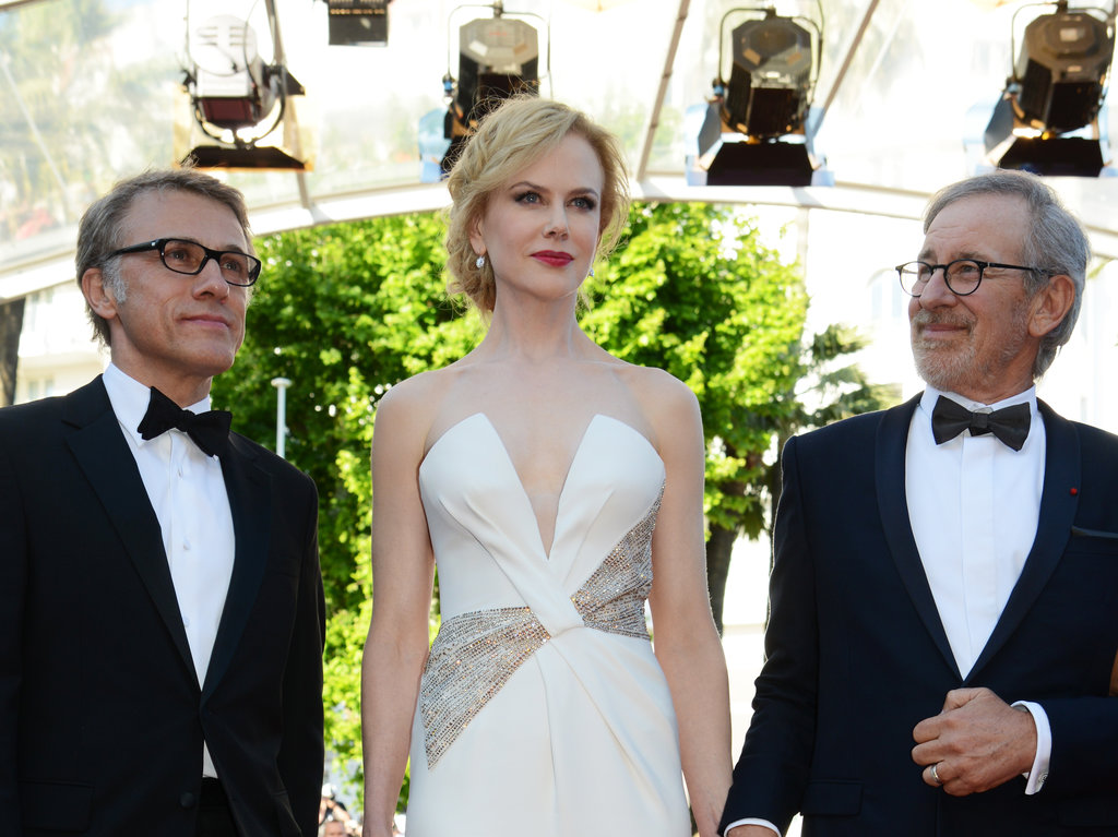 Christoph Waltz, Nicole Kidman, and Steven Spielberg prepared to head into the Cannes closing ceremony on Sunday.