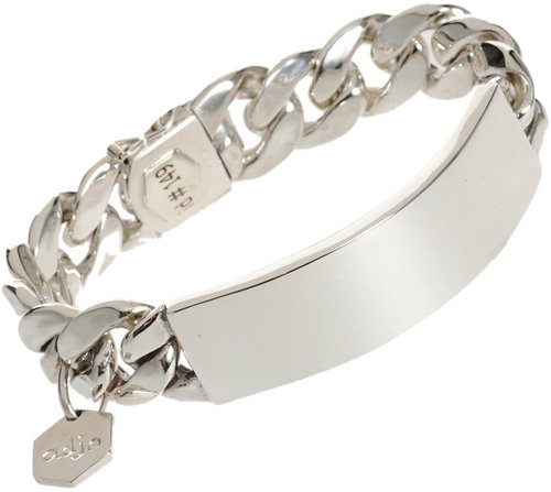 Ann Dexter-Jones Silver Medium RP ID Bracelet