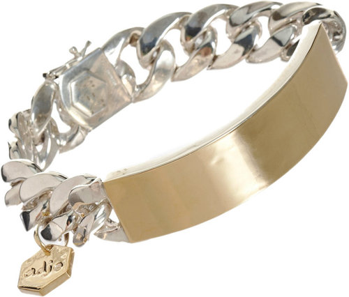 Ann Dexter-Jones Gold Medium RP ID Bracelet