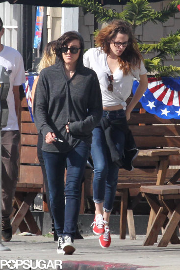 Kristen Stewart spent Memorial Day weekend in LA.