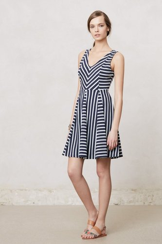 Striped Day Dress