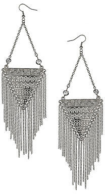 Aztec chandelier earrings
