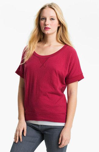 Bobeau Dolman Sleeve Pullover