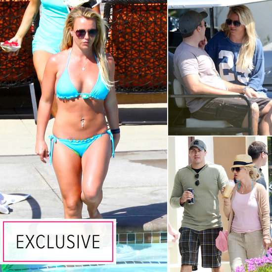 Britney Spears Wears a Bikini For a Weekend Getaway With Her Man