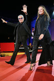 Roberto and Eva Cavalli at the 2013 Life Ball in Vienna, Austria.
