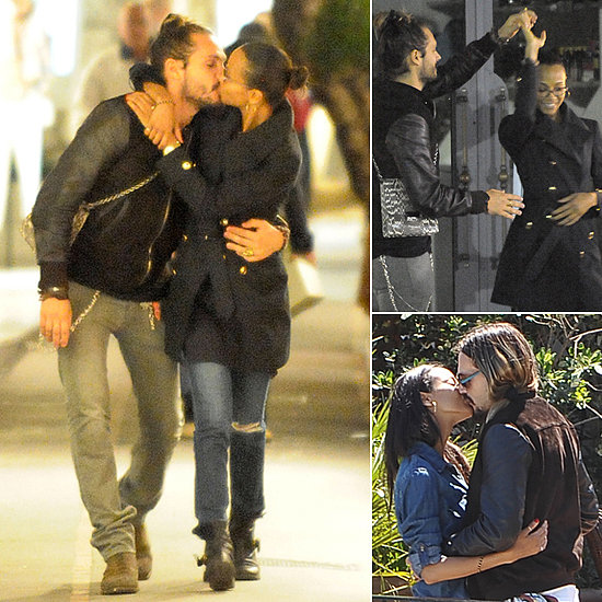 Zoe Saldana Kisses and Dances Her Way Around Capri