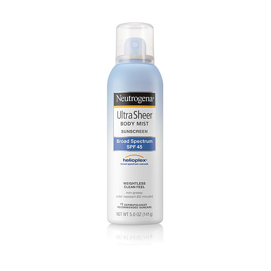 Nondrying, nongreasy, and alcohol-free, Neutrogena Ultra Sheer SPF 15 Sunscreen ($10) is a prime choice for any type of woman.