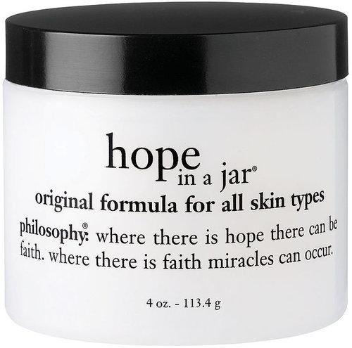 Philosophy hope in a jar original formula for all skin types 4 oz (113 g)