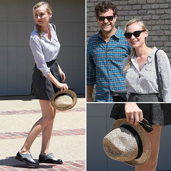 The No Brainer Way to Work Print-on-Print, Thanks Diane Kruger