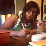 Mindy Kaling wrote some checks during her day off. Source: Instagram user mindykaling