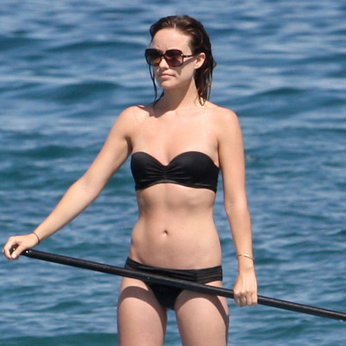 Olivia Wilde Bikini Pictures Kissing Jason Sudeikis Hawaii