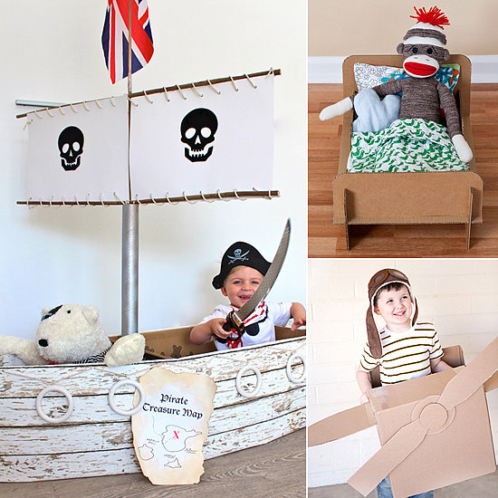 8 Incredible DIY Cardboard Box Projects