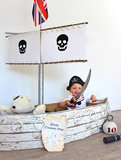 Cardboard Box Pirate Ship