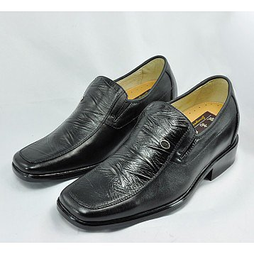 men elevator dress shoes get taller 7cm / 2.75inches