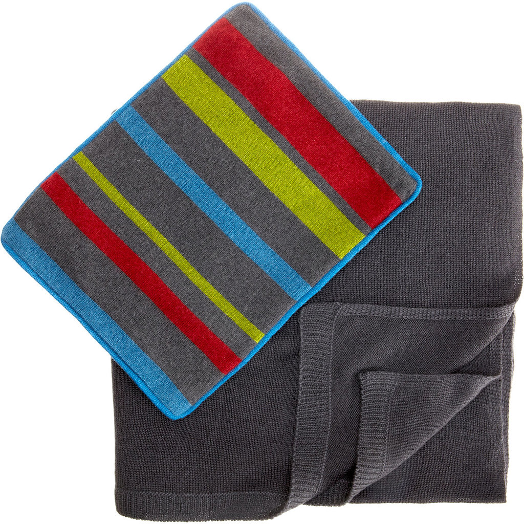 Once you've traveled with cashmere, you'll never go back to thin airline blankets. This Armand Diradourian option ($365) is perfect for packing, since it easily folds into its sweetly striped pouch.