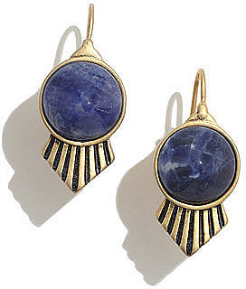 Madewell's Bluestone earrings ($26) would be perfect with a chambray button-down.