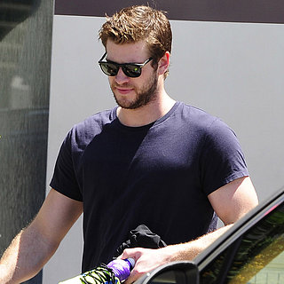 Liam Hemsworth Work Out After Miley Breakup Rumors