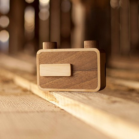 Wooden Pinhole Camera