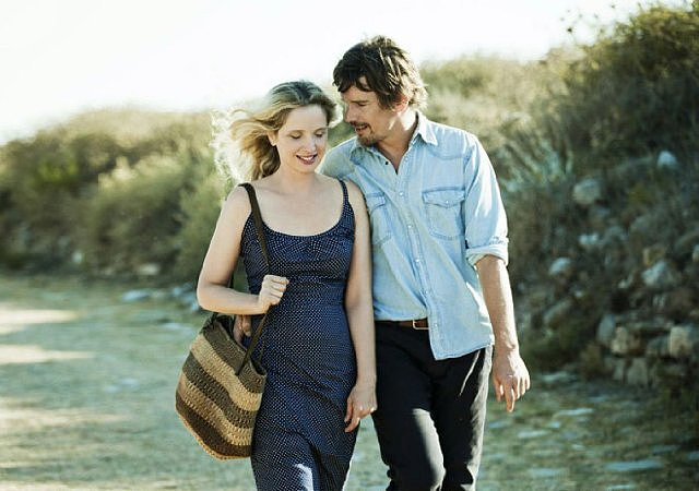 Before Midnight  Who's starring: Ethan Hawke and Julie Delpy What it's about: The third movie about meant-for-each-other couple Celine and Jesse finds them finally together, but whether they're happy is another question. Why it made a splash: It's the rare sequel that has come about not because the previous films made tons of money, but because the characters are so beloved. Fans flocked to see the movie at Sundance, and most viewers seemed more than satisfied. When it opens: May 31 Watch the trailer for Before Midnight