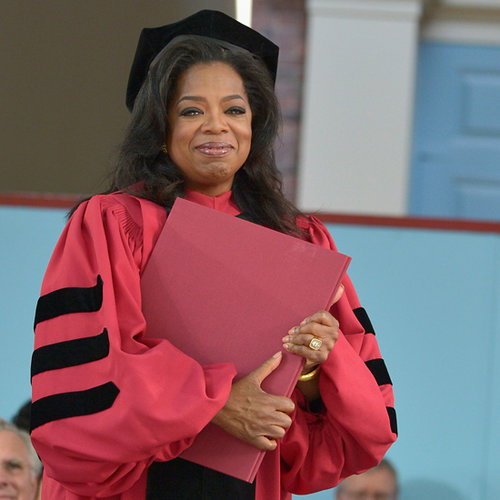 Oprah at Harvard Commencement 2013