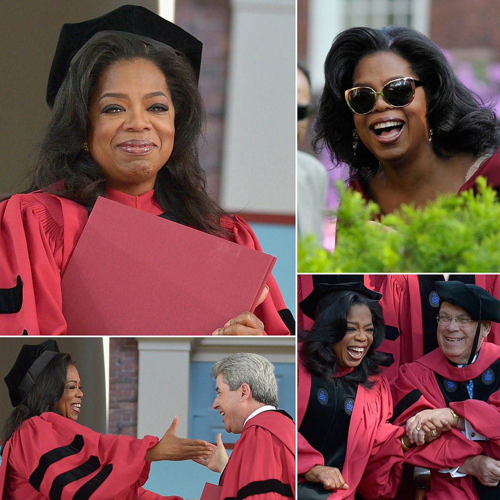 Oprah Goes Back to School, Harvard Style