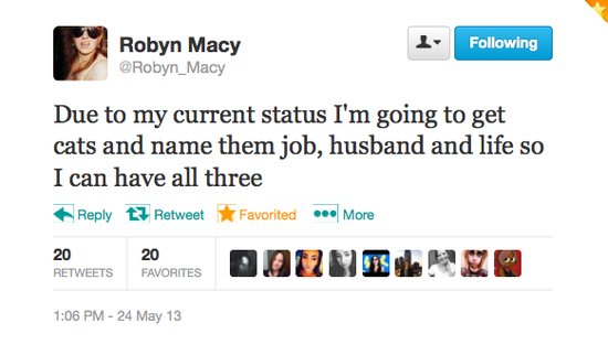 @Robyn_Macy knows how to have it all in life.