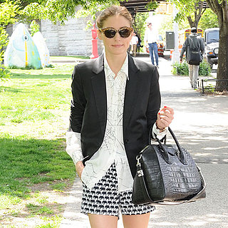Olivia Palermo in Milly For Banana Republic Collection