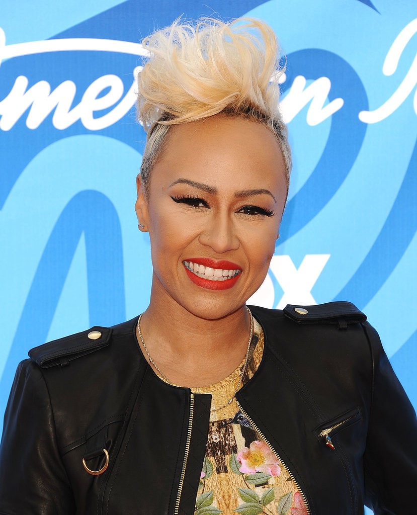 """Go big or go home"" is Emeli Sandé's take on her pixie cut. Bust out your hair spray and give her version a go."