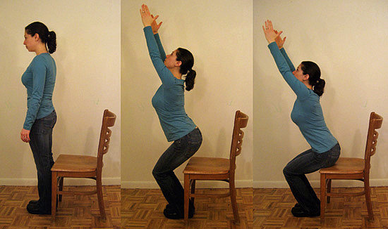 Squat: Chair or Bench
