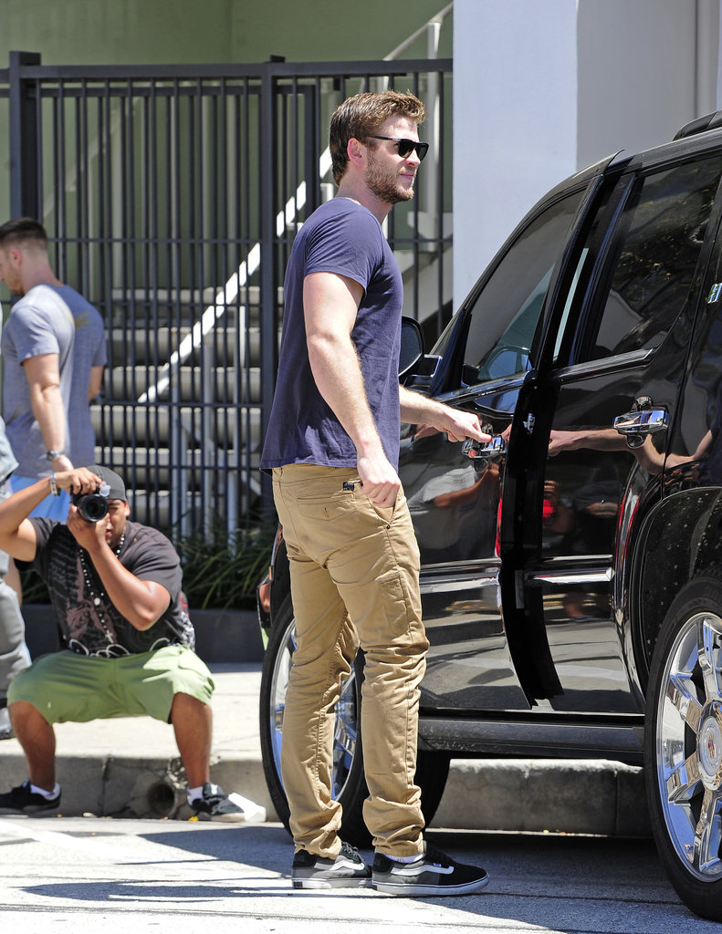 Liam Hemsworth made a beeline for his car on May 30, amid fresh rumours about a split with Miley Cyrus.