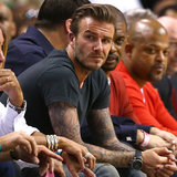 David Beckham at Miami Heat Game | Pictures
