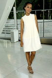 A sweet Kerry Washington attended in 2011 in a swingy white Calvin Klein dress.