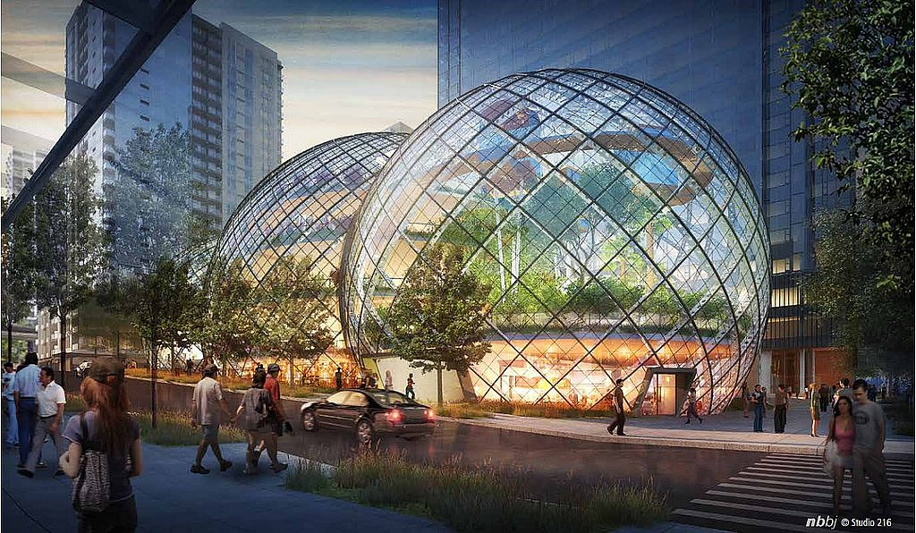 Amazon's Futuristic Headquarters Plans
