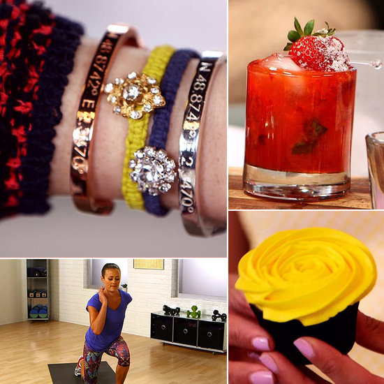 Strawberry Basil Cocktails and Friendship Bracelets: The Best of POPSUGARTV This Week
