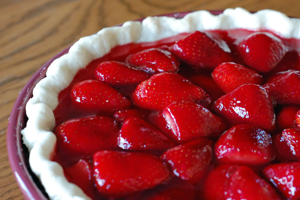 Strawberry Fruit Pie