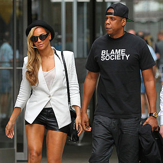 Beyonce Knowles and Jay-Z Have a Movie Date in NYC