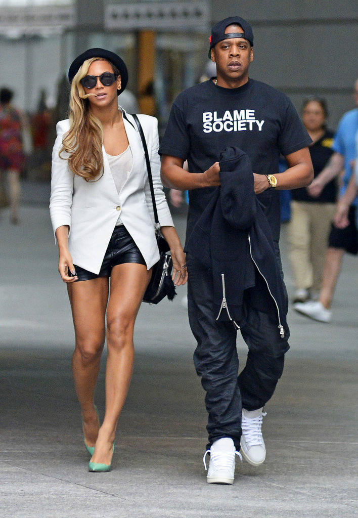 Beyoncé and Jay-Z Do Date Night in NYC